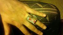 Heart Costume Rectangle Ring
