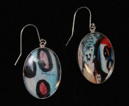 SS Ghost Earrings