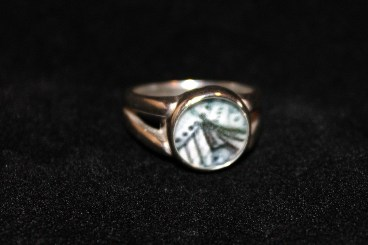 SS Round Ring (size 6)