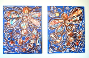 Dragonfly Diptych