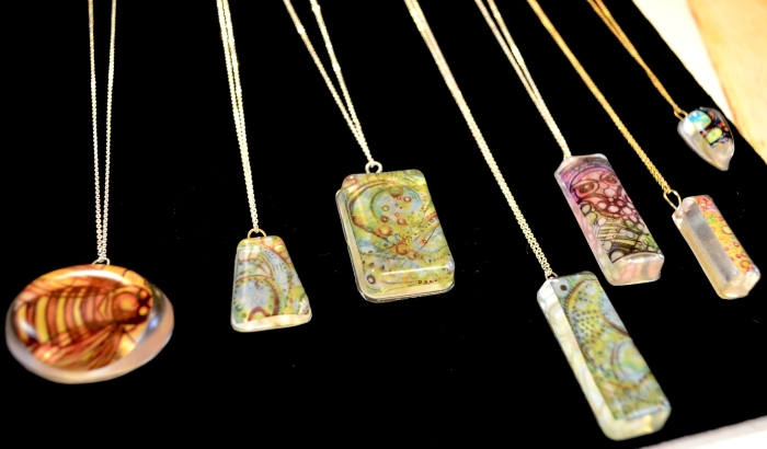 resin pendants